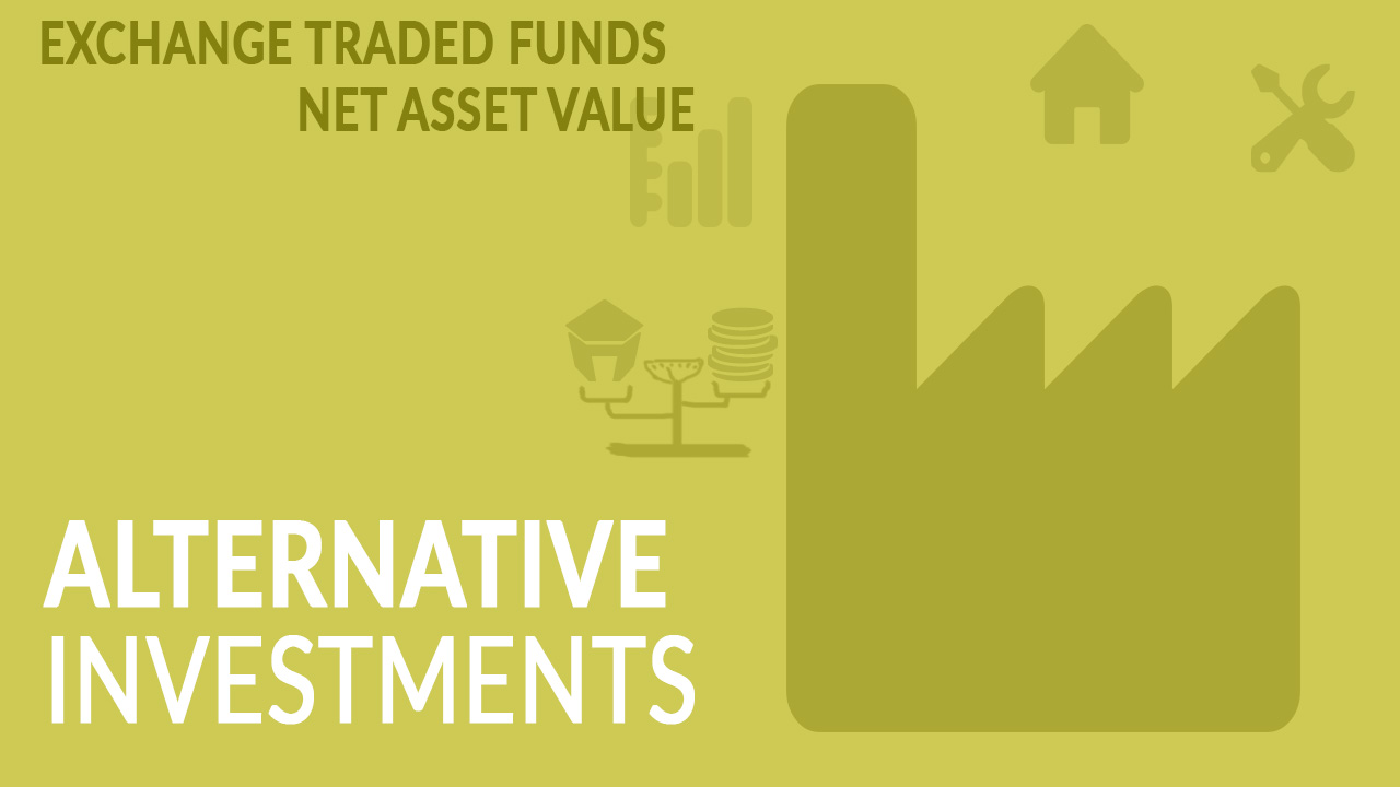 CFA Level 1 Alternative Investments Courses