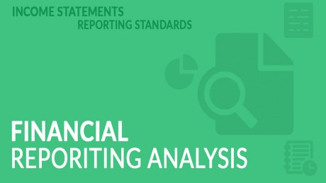 CFA level 1-financial reporting and analysis