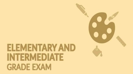 Elementary and Intermediate Drawing Grade Exam