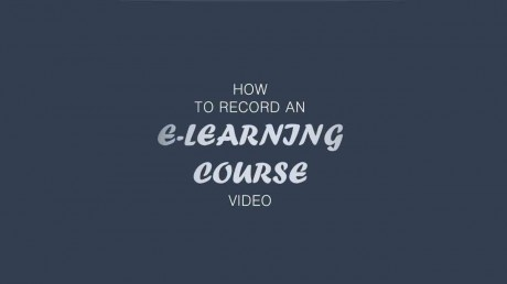 how to create e-learning course?