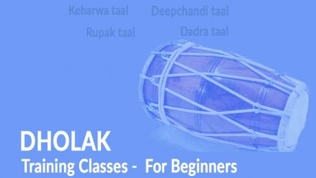 Dholak Training Classes for Beginners