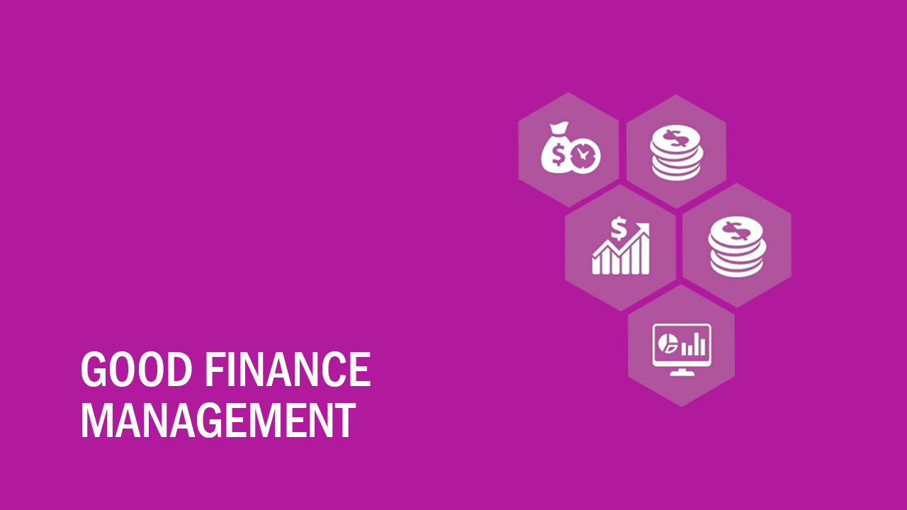 Good finance management